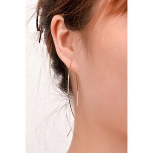 🆕Minimalist Fish Shape Hoop Earrings